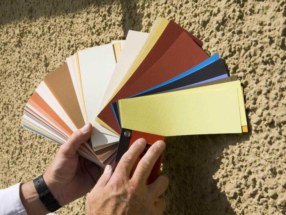 farbdesign-Fassadenanstrich